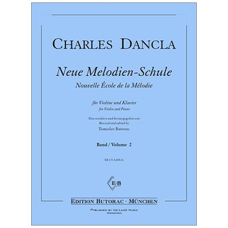 Dancla, J. B. Ch.: Neue Melodien-Schule Band 2 (Nr. 13-24)