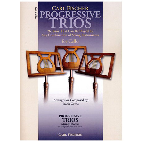 Progressive Trios for Strings – Cello