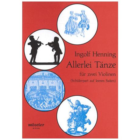 Henning, I.: Allerlei Tänze