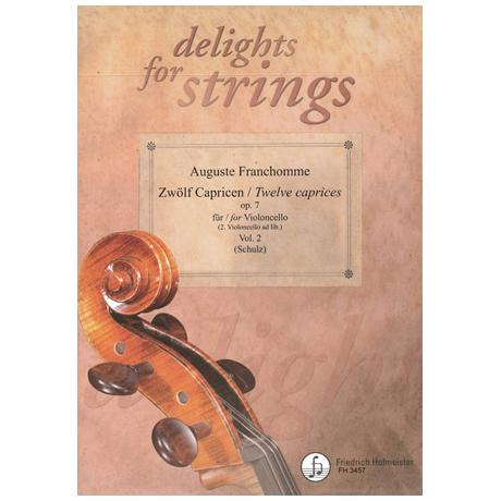 Franchomme, A.: Zwölf Capricen op. 7 Band 2