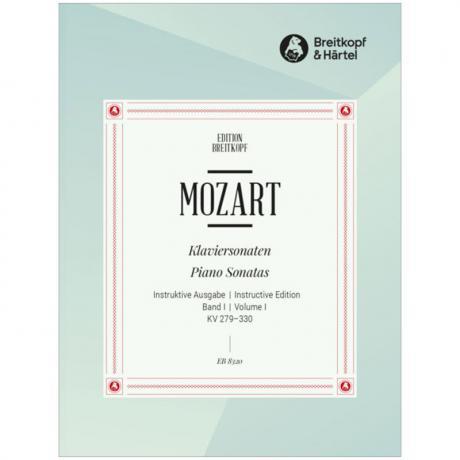 Mozart, W. A.: Klaviersonaten Band 1 KV 279-330 (Nr. 1-10)
