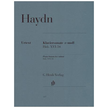 Haydn, J.: Klaviersonate e-Moll Hob. XVI:34