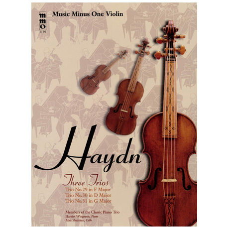 Haydn: Three Trios No.29 in F major & No. 30 in D major & No.31 in G major (+CD)