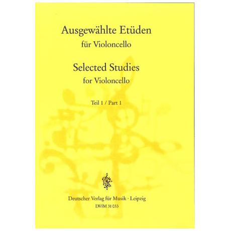 Lösche, H.: Ausgewählte Etüden für Violoncello Teil 1