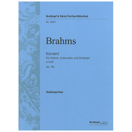 Brahms, J.: Konzert a-Moll Op. 102