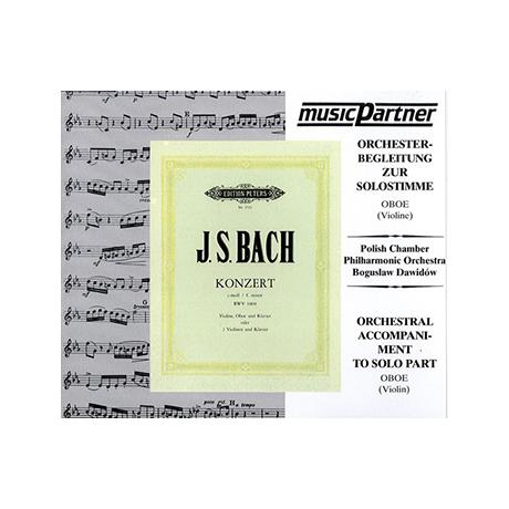 Bach, J. S.: Doppelkonzert BWV 1060 c-Moll Compact-Disc CD
