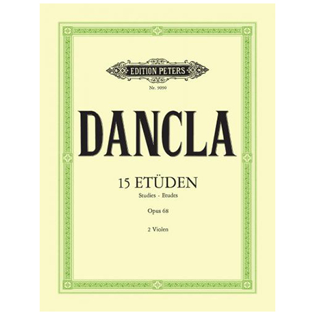 Dancla, J. B. Ch.: Etüden Op. 68
