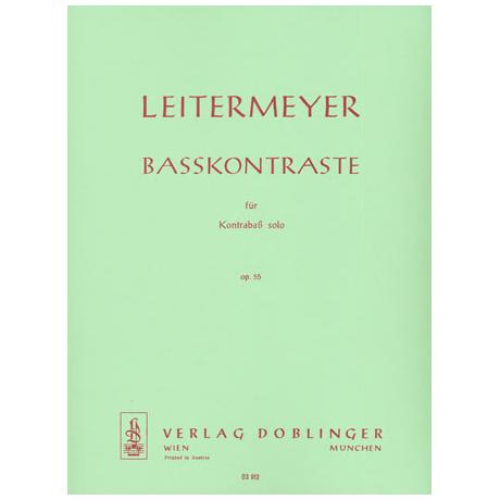 Leitermeyer, F.: Baßkontraste Op.55