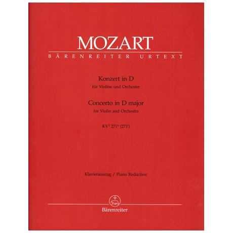 Mozart, W. A.: Konzert KV 271a D-Dur