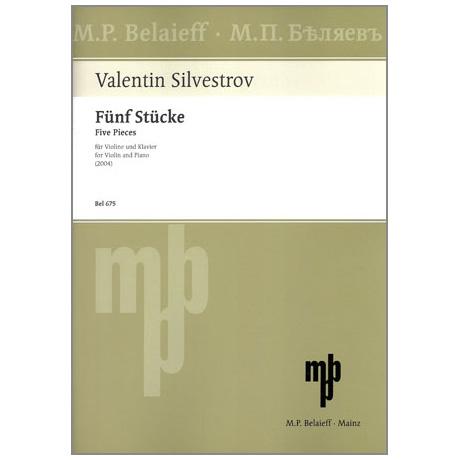 Silvestrov, V.: 5 Stücke