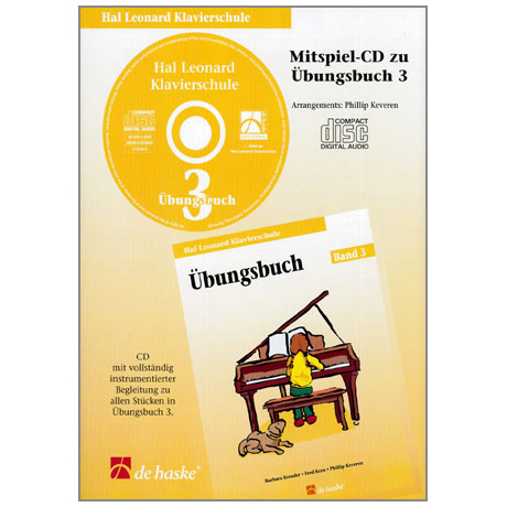 Kreader, B: Hal Leonard Klavierschule Band 3 (+CD)
