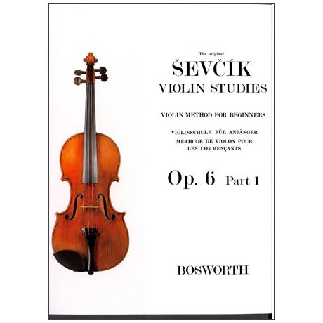 Sevcik, O.: Violinschule für Anfänger op. 6 Heft 1
