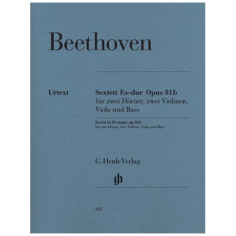 Beethoven, L. v.: Sextett Op. 81b Es-Dur – Stimmen