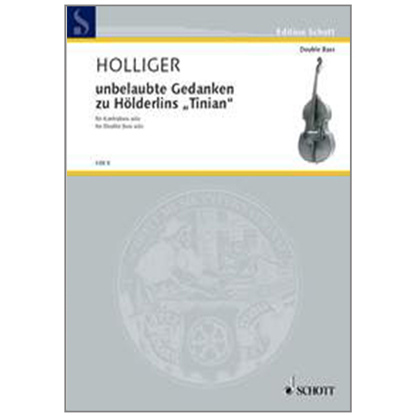 Holliger, H.: unbelaubte Gedanken zu Hölderlis »Tinian« (2002)