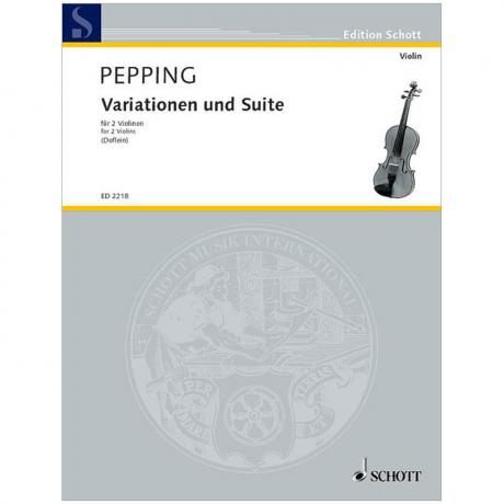 Pepping, E.: Variationen und Suite