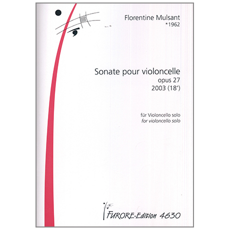 Mulsant, F.: Sonate pour violoncelle Op.27