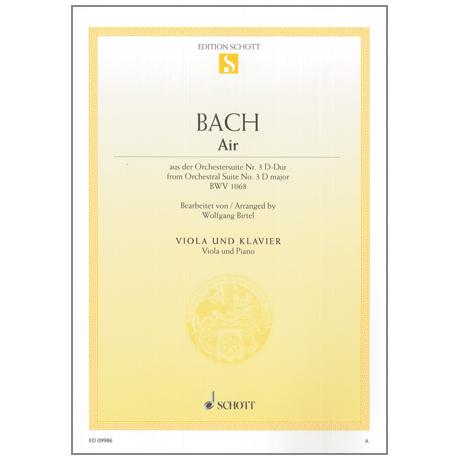 Bach: Air (aus der Orchestersuite Nr.3 D-Dur BWV1068)