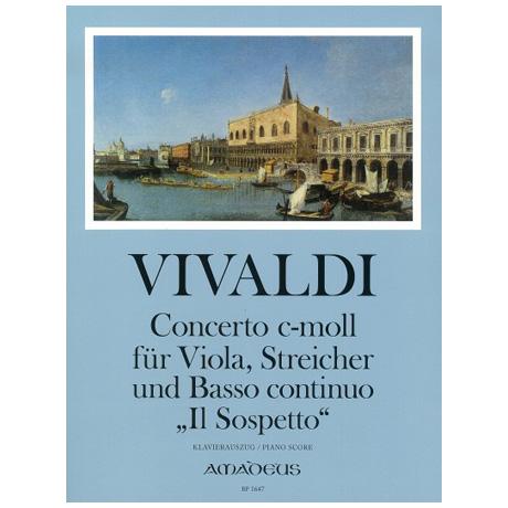 Vivaldi, A.: Violakonzert c-Moll »Il Sospetto« nach RV 199
