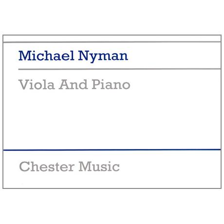 Nyman, M.: Viola and Piano
