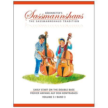 Sassmannshaus, H.: Früher Anfang auf dem Kontrabass Band 3