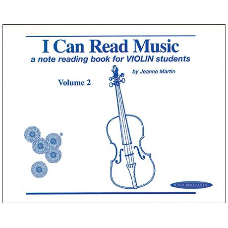 Martin, J.: I Can Read Music Volume 2
