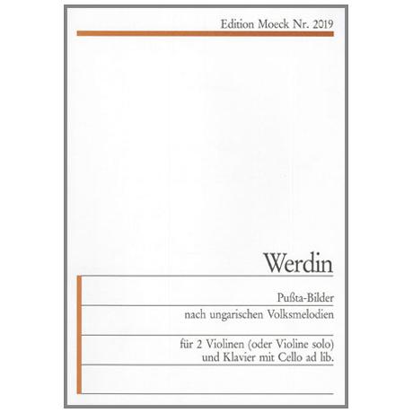 Werdin, E.: Puszta-Bilder nach ungarischen Volksmelodien