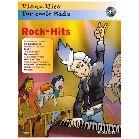 Piano-Hits für coole Kids: Rock Hits (+CD)
