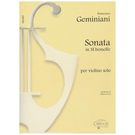 Geminiani, F.: Sonate B-Dur