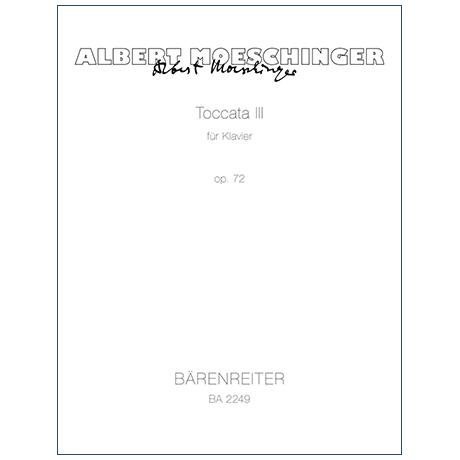 Moeschinger, A.: Toccata Nr. 3 Op. 72 (1948)