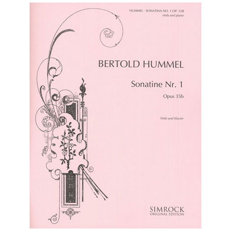 Hummel, B.: Sonatine Nr. 1 Op. 35b