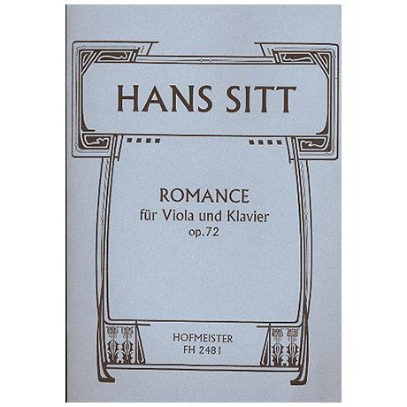 Sitt, H.: Romance Op.72