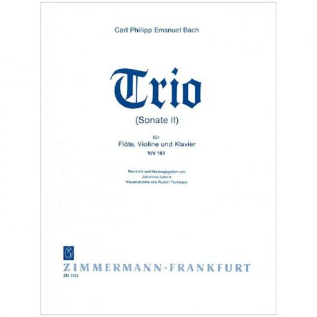 Bach, C. Ph. E.: Triosonate Nr. 2 WV 161 h-Moll