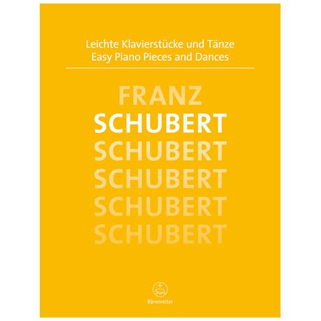 Schubert, F.: Leichte Klavierstücke und Tänze
