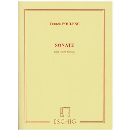 Poulenc: Sonate