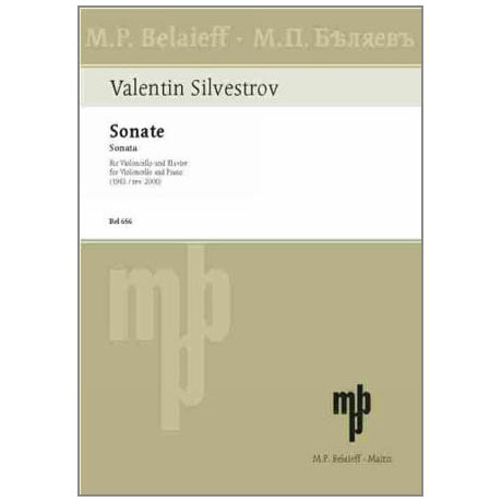 Silvestrow, V.: Sonate (1983)