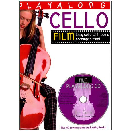 Playalong Cello: Film Tunes (+CD)
