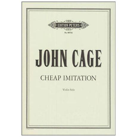 Cage, J.: Cheap Imitation