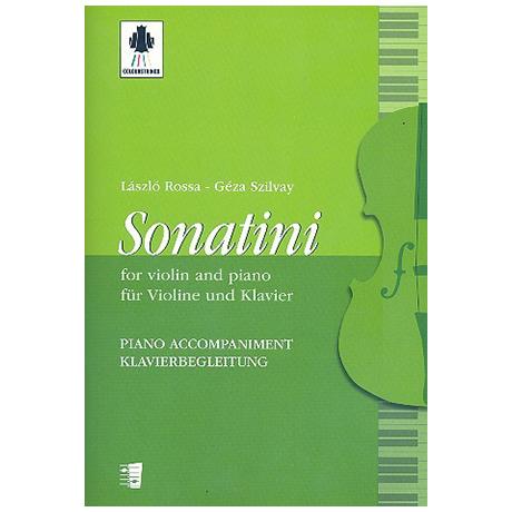 Rossa, L./Szilvay, G.: Sonatini – Klavierbegleitung