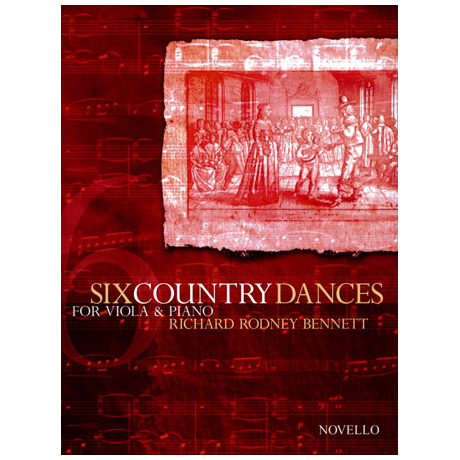 Bennett, R: Six Country Dances