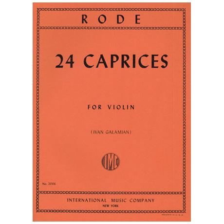Rode: 24 Capricen