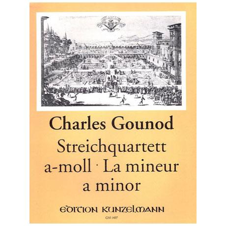 Gounod, C.: Streichquartett a-Moll