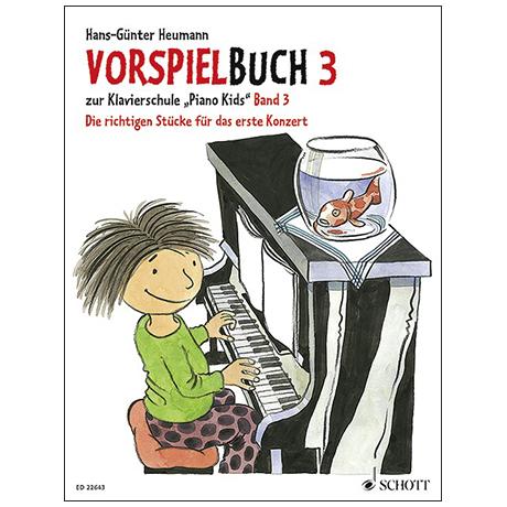Heumann, H.-G.: Vorspielbuch 3 – Die richtigen Stücke für Konzert und Freizeit
