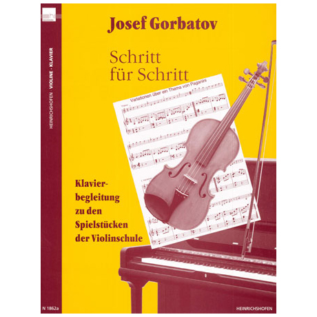 Gorbatov, J.: Violinschule 'Schritt für Schritt'