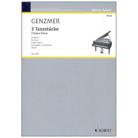 Genzmer, H.: 3 Tanzstücke GeWv438-N