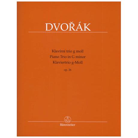 Dvořák, A.: Klaviertrio Op. 26 g-Moll