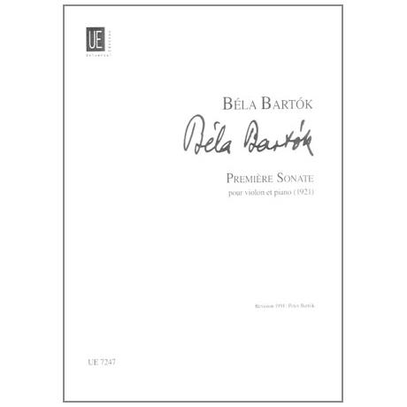 Bartók, B.: Sonate Nr. 1