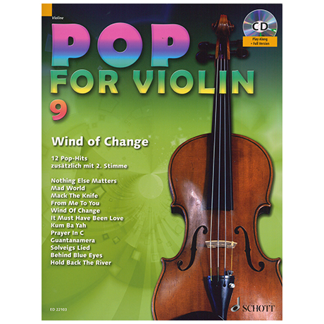 Pop for Violin Vol.9 (+CD)
