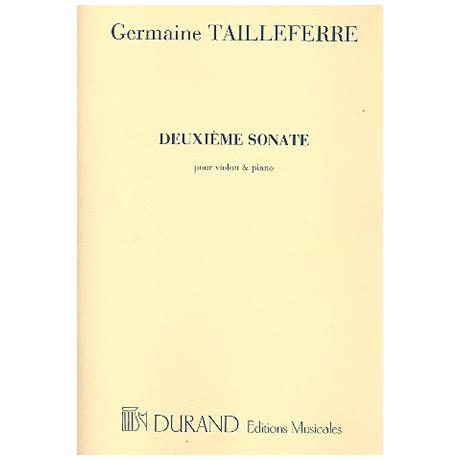 Tailleferre, G.: Violinsonate Nr. 2 (1951)