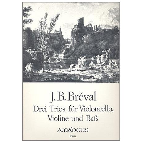 Bréval, J.B.: 3 Trios Op.39