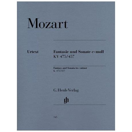 Mozart, W. A.: Fantasie und Sonate c-Moll KV 475/457